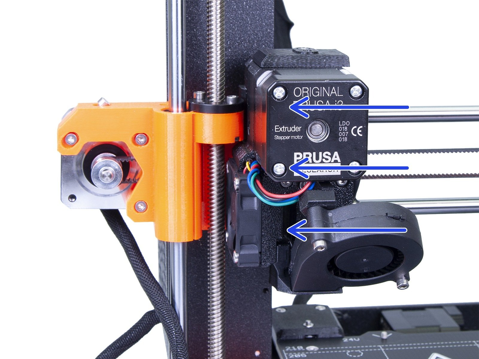 principle of updating the firmware of the printer